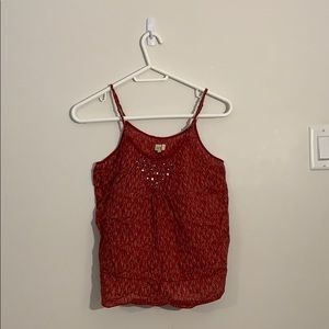 ✨3/$45  NWOT Aerie Small Red Tank Top
